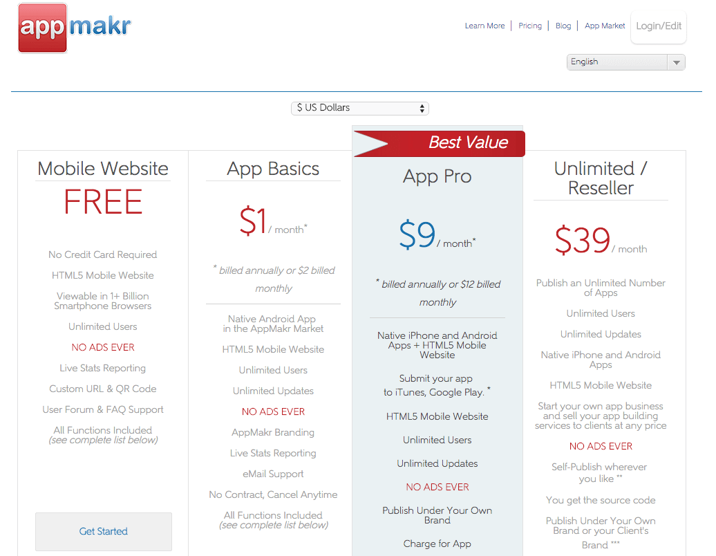 AppMakr Review - How Does the App Maker Compare?