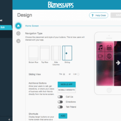 bizness apps design