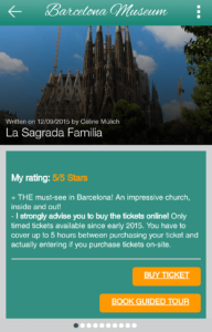 Barcelona museums app
