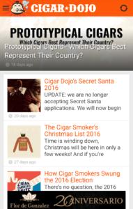 Cigar dojo app