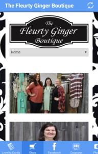 Fleurty ginger app
