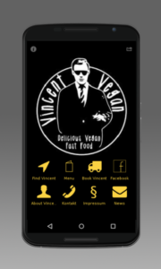 Vincent vegan app