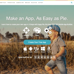 appypie landing page