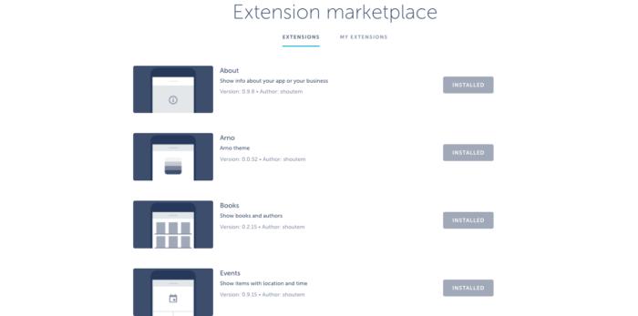 shoutem-extension-marketplace
