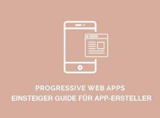 progressive web apps DE new