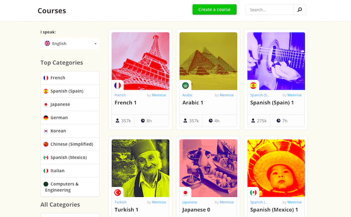 best language learning apps memrise
