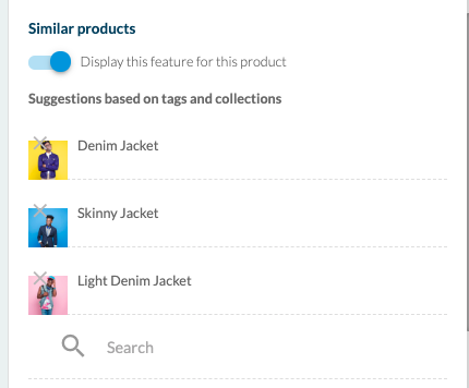 Goodbarber shopping app similar products